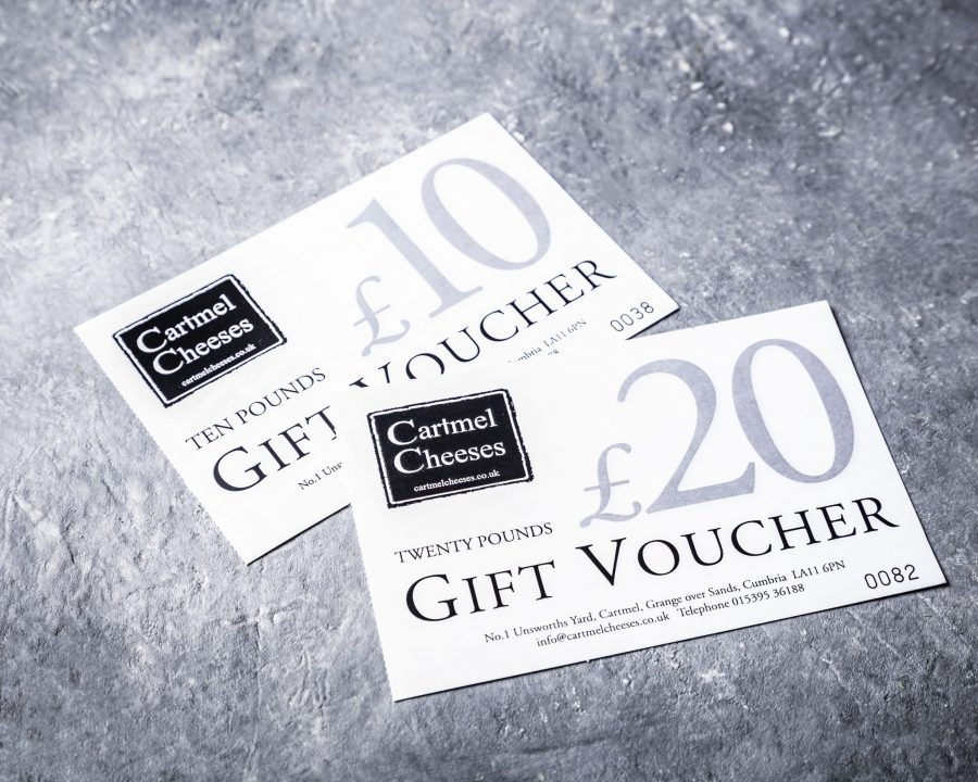 Cartmel Cheeses Gift Vouchers